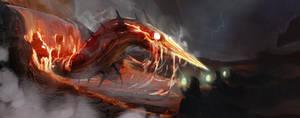 Lava Lord by SeanDonaldson