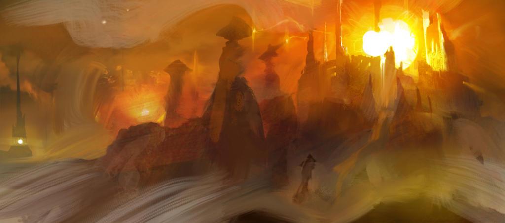 Castle of the sun by seandonaldson on deviantart for Sun castle