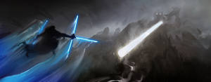 Jedi VS Jedi Rock Giant