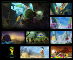 Fifa World Cup Brasil 2014 Initial Mood Boards