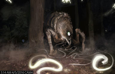 The creature is finally released. by SeanDonaldson
