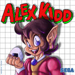 Alex Kidd by Dawgweazle