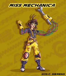 ARMS: Miss Mechanica by Dawgweazle
