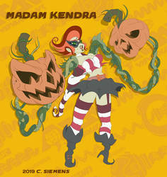 Nintendo ARMS: Madam Kendra by Dawgweazle