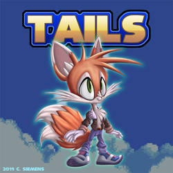 Sonic The Hedgehog: Tails Redesign by Dawgweazle
