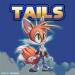 Sonic The Hedgehog: Tails Redesign