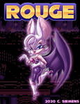 Sonic The Hedgehog: Rouge Redesign by Dawgweazle