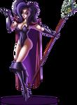 Battletoads Dark Queen by Dawgweazle