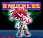 Sonic The Hedgehog: Knuckles Redesign by Dawgweazle
