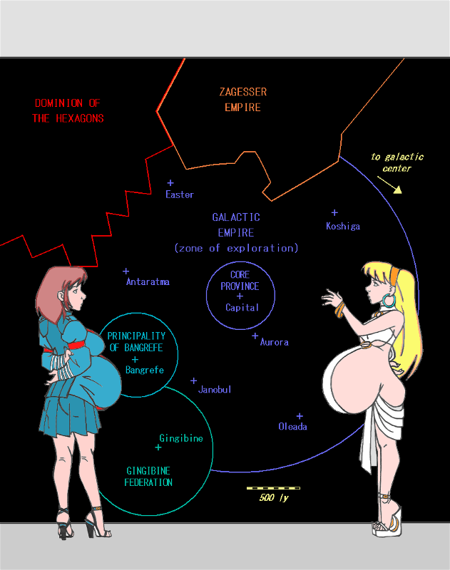 Space Map And Pregnant Ladies By Amiwakawaiidesu On DeviantArt - Space map