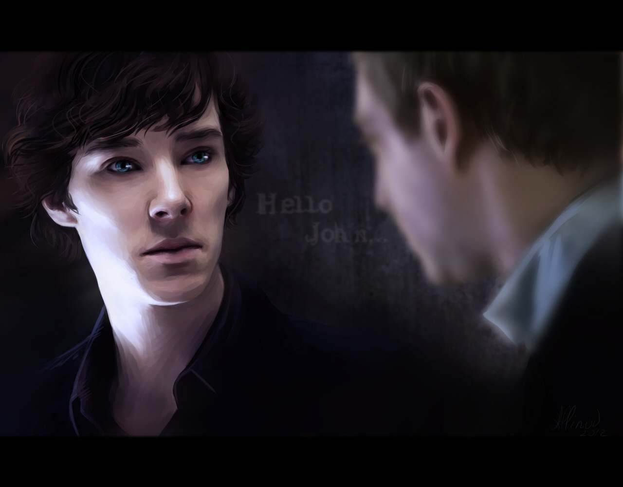 Hello, John... by Allinor