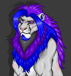 Quinn the Big Gay Lion - Paint