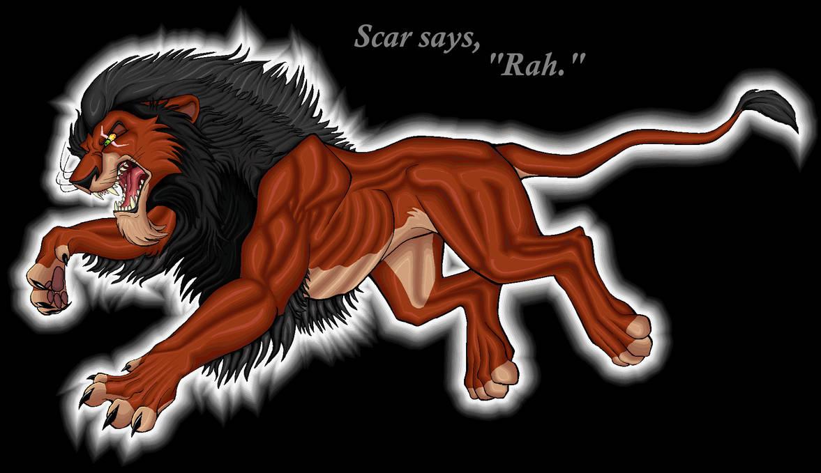 Scar Says Rah by TheRaevyn13