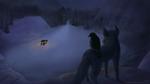 Wolf and Hawk by goofymoNkey