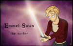 OUAT Gender Bender: Emma Swan / Emmet Swan by goofymoNkey