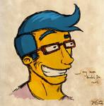 Suave Milhouse by goofymoNkey