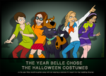 The Year Belle Chose The Halloween Costumes