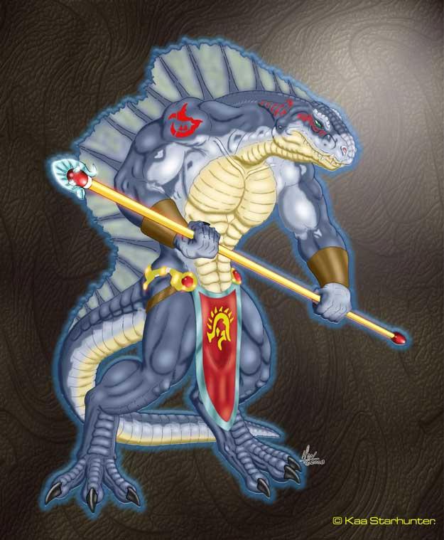 Dinosaur Gods No.1 by anthrosaur