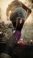 These boots were made to kick the man (inFamous)