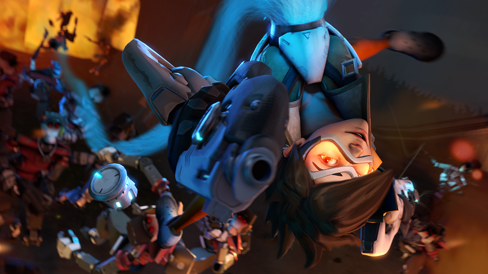 Tracer - Overwatch (Source Filmmaker / 4k) by lemon100 on ...