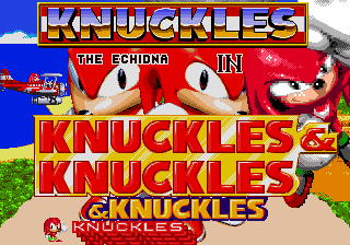 Knuckles has taken over!! by AlzterS