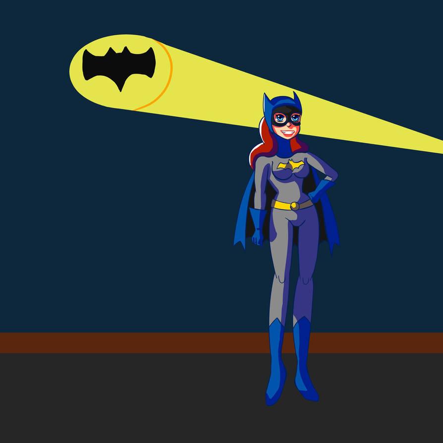 Batgirl by Strawberry Milkshake by danielik