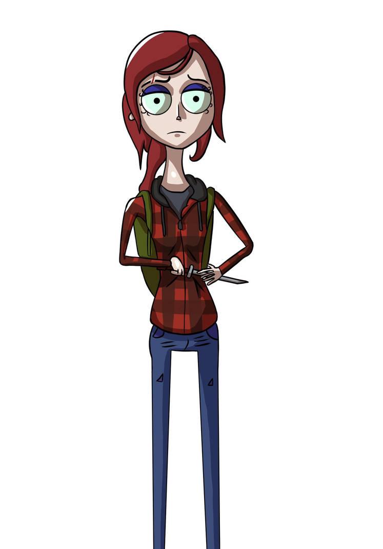 Ellie - The Last of Us by Strawberry Milkshake by danielik