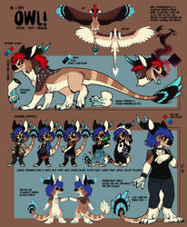 REFERENCE Owl 2019 by IlluEule