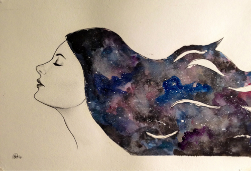 Galaxy Girl by brandymarie87