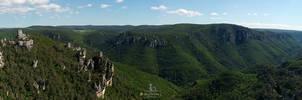 Vu depuis le Mont Saint-Baudille (848 m)