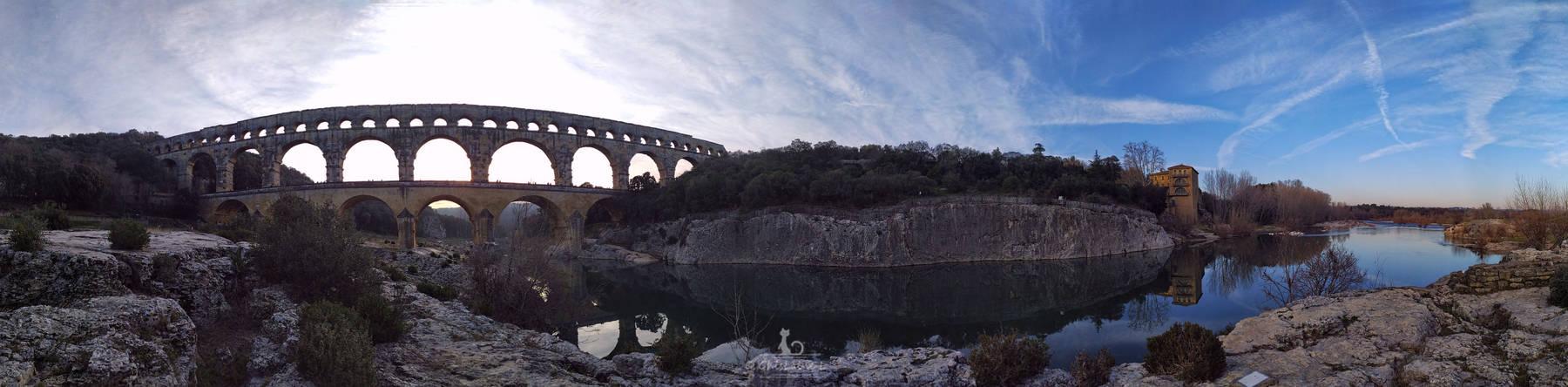 Pont du Gard  (Panorama)