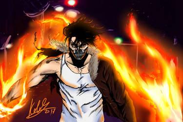 Fire boy by E-KOLOVOS