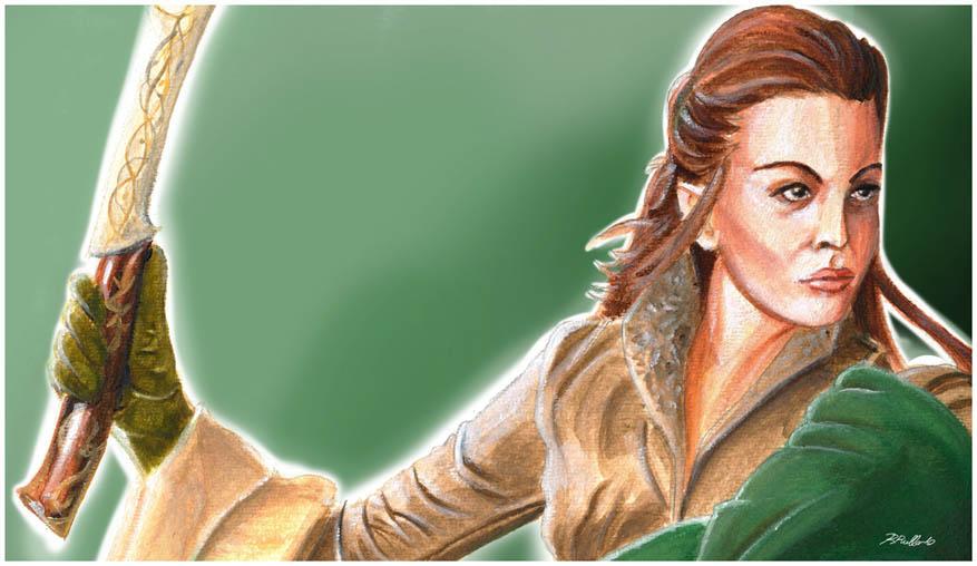 Arwen:portrait by shiprock