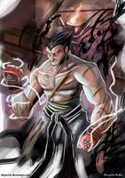 Kazuya: Devil transformation by shiprock
