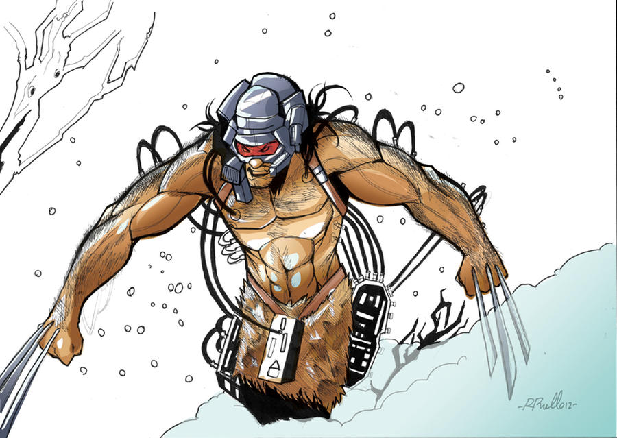 Weapon X: color WIP by shiprock