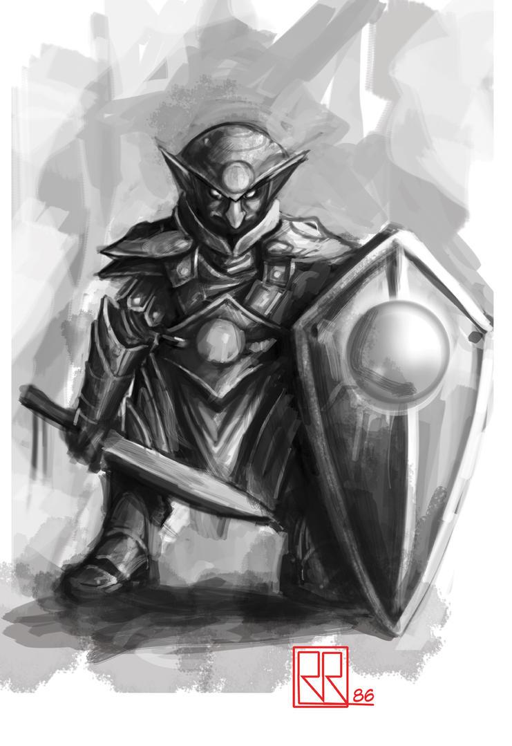 Capítulo 1 :Krondor - Página 9 Goblin_guard_by_shiprock-d5v8jiu