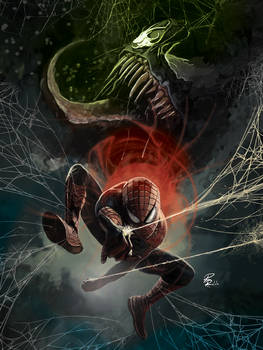 Portfolio: Spider-Man vs Venom