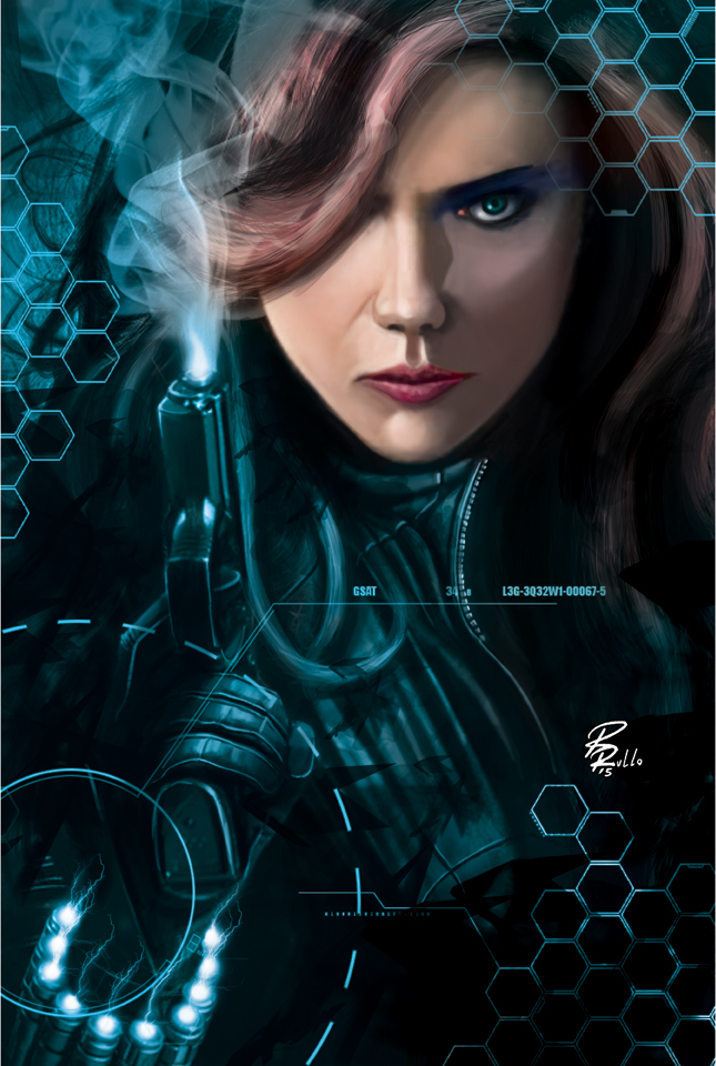 Black Widow by shiprock
