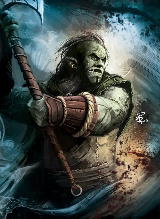Dragonero RPG: Gmor Burpen by shiprock