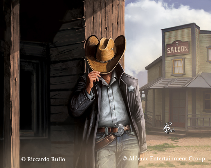 Doomtown:  Fancy New Hat by shiprock