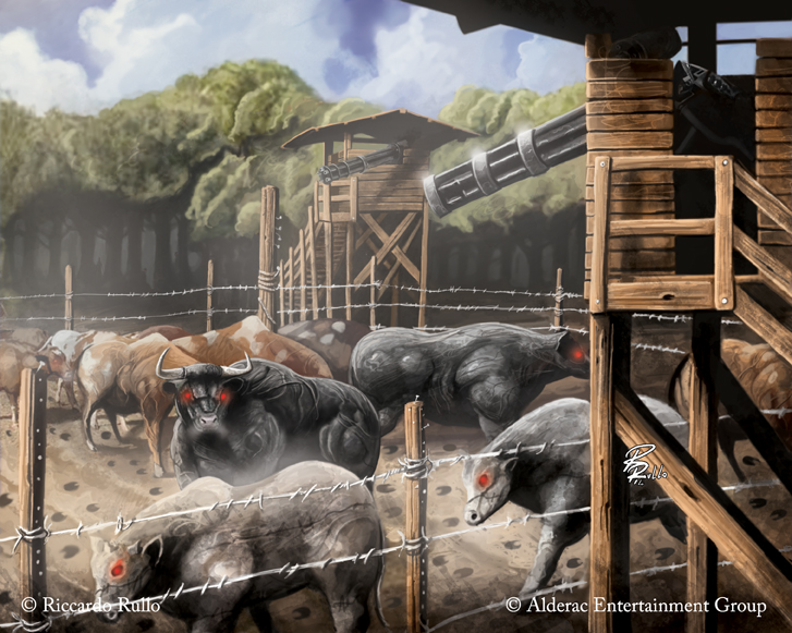 Doomtown: Secured Stokyard by shiprock