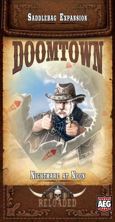 Doomtown: Nightmare at Noon cover by shiprock