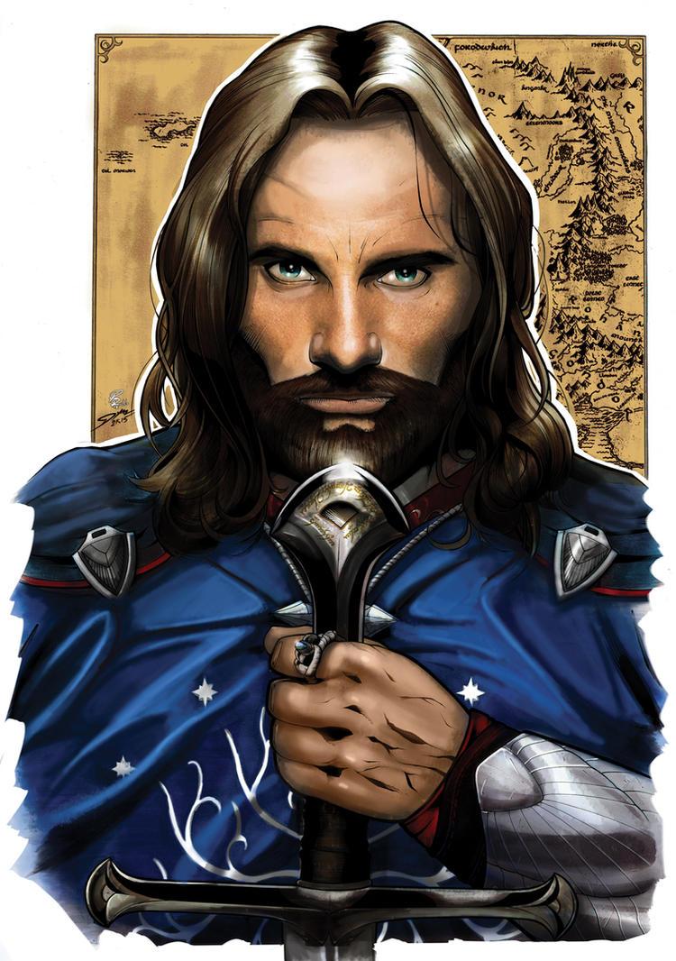 Collaboration: Freitas-Rullo Aragorn by shiprock