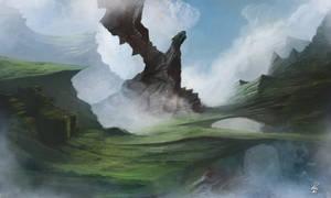Portolio: Dragon rock by shiprock