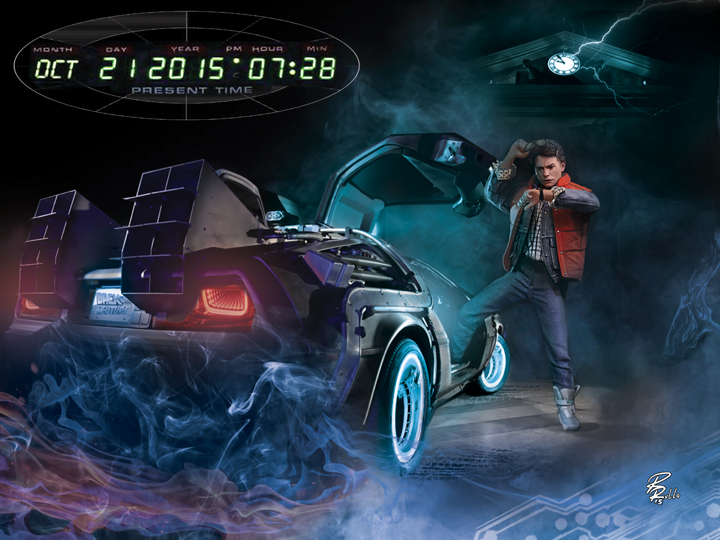 Back To The Future Day By Shiprock On DeviantArt