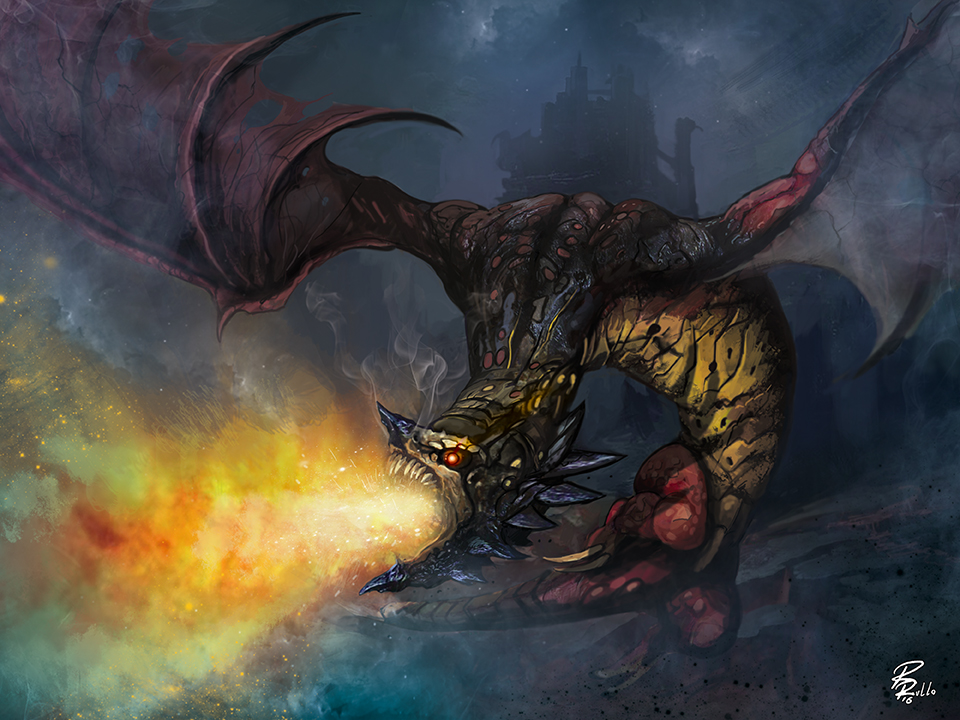 angry dragon by shiprock on deviantart