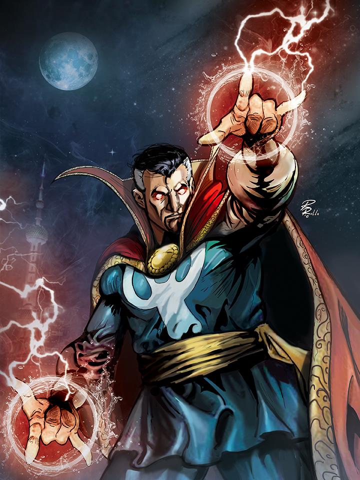 Doctor Strange by shiprock