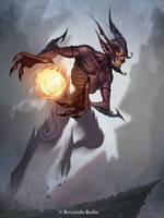 Devil sorcerer! by shiprock