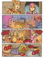 Dragonero Adventures: color page preview