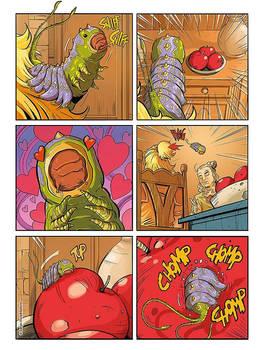 Dragonero Adventures: color page 2 preview